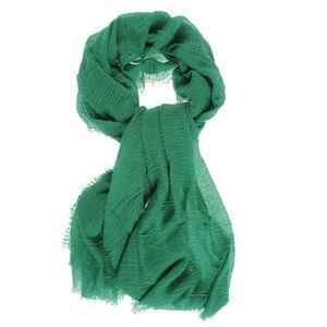 Esarfa creponata verde