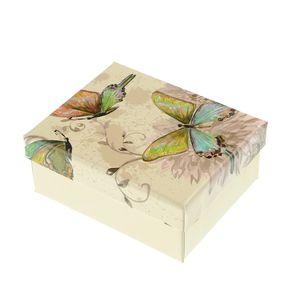Cutie bijuterii decor fluturi