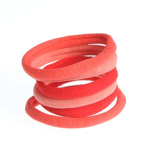 Set rosu 6 elastice par