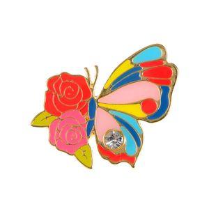 Brosa martisor fluture