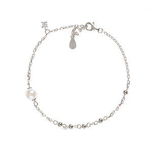 Bratra de argint pandantiv perla