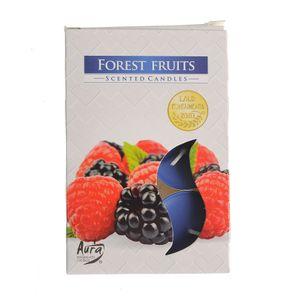 Set 6 lumanari  pastile fructe de padure