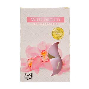 Set 6 lumanari parfumate Orhidee salbatica