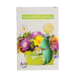 Set 6 lumanari  parfumate Flori de camp