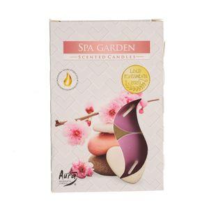 Set 6 lumanari parfumate Garden Spa