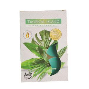 Set 6 lumanari Tropical Island