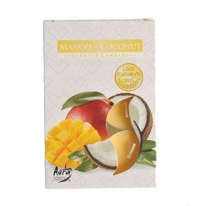 Set 6 lumanari parfumate Mango