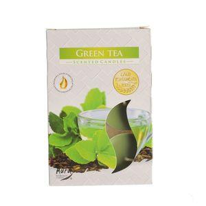 Set 6 lumanari parfumate Ceai Verde