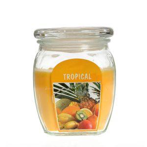 Lumanare  parfumata in pahar  aroma exotica