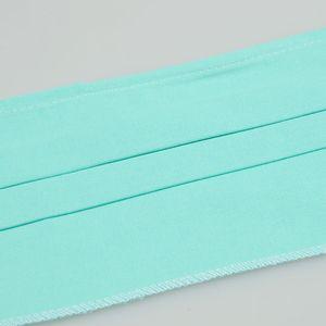 Masca verde din material texil cu 2 straturi