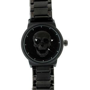 Ceas negru metalic