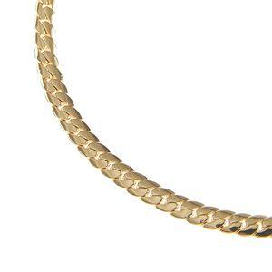 Bratara placata cu aur tip lant