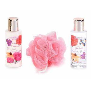 Set 3 produse de baie cu arome florale