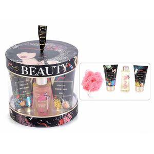 Cutie cadou cu 4 produse cosmetice de baie