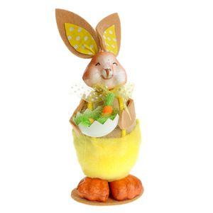Decoratiune Iepuras si morcovi