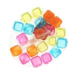 Cuburi colorate pentru gheata