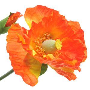 Floare artificiala cu maci portocalii