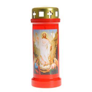 Candela rosie Invierea Domnului 70h