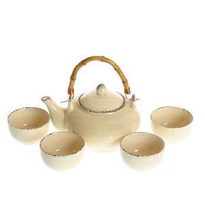 Set ceainic cu 4 cani