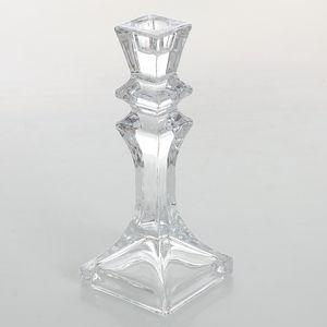Sfesnic din sticla pentru lumanare