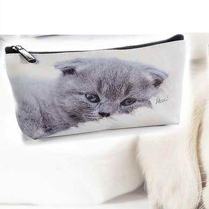 Portfard design pisica