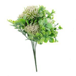 Ramura decorativa cu flori artificiale
