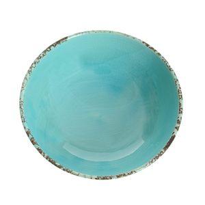 Bol ceramic turcoaz