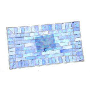 Savoniera mozaic nuante albastre