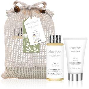 Set 2 produse cosmetice pentru baie cu  busuioc si menta