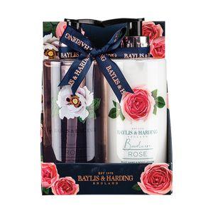 Set 2 produse cosmetice pentru baie cu trandafir