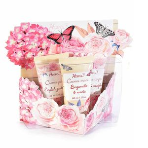 Set 3 produse cosmetice cu arome florale