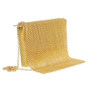 Geanta plic cu aplicatii aurii