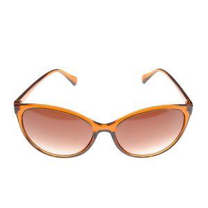 Ochelari de soare ovali cu rama maronie