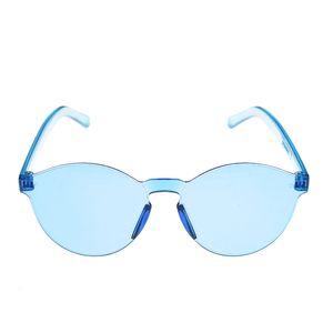 Ochelari de soare cu lentile albastre