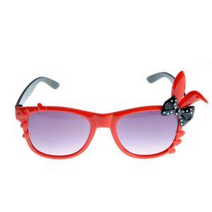 Ochelari de soare rosii cu urechi de iepure
