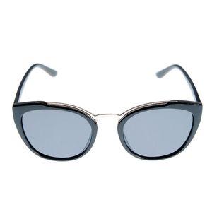 Ochelari de soare cat-eye negri