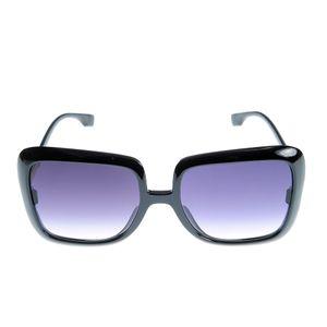 Ochelari de soare negri supradimensionati