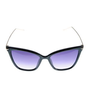 Ochelari de soare cat-eye cu lentile violet
