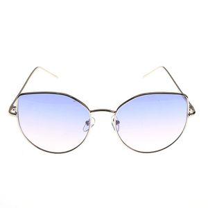 Ochelari de soare cat-eye cu lentile mov