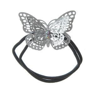 Elastic de par cu fluture argintiu