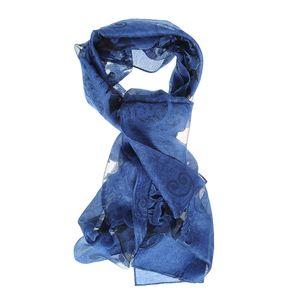 Esarfa fina albastra