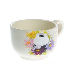 Vaza ceramica cu farfurie 11 cm