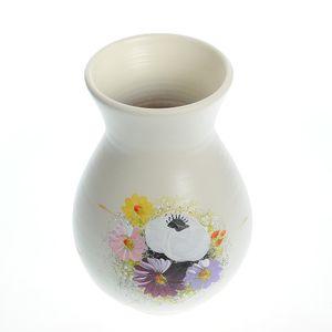 Vaza ceramica pictata manual 20cm
