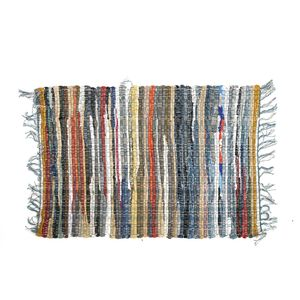 Covor textil multicolor 60 x 90cm