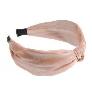 Bentita roz sidefat cu nod