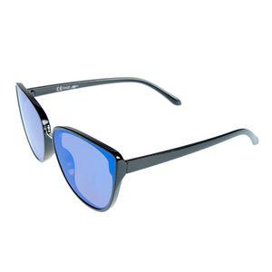 Ochelari de soare cu lentila oglinda albastra