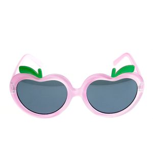 Ochelari de soare roz cu lentile in forma de mar