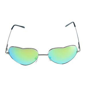 Ochelari de soare cu lentile in forma de inima