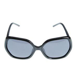 Ochelari de soare negri cu brate subtiri