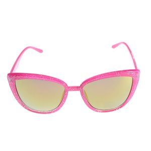 Ochelari de soare roz cu sclipici